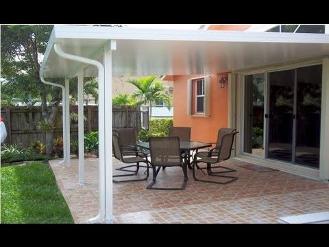Aluminium Roof Patio Diy Patio Diy Patio Cover