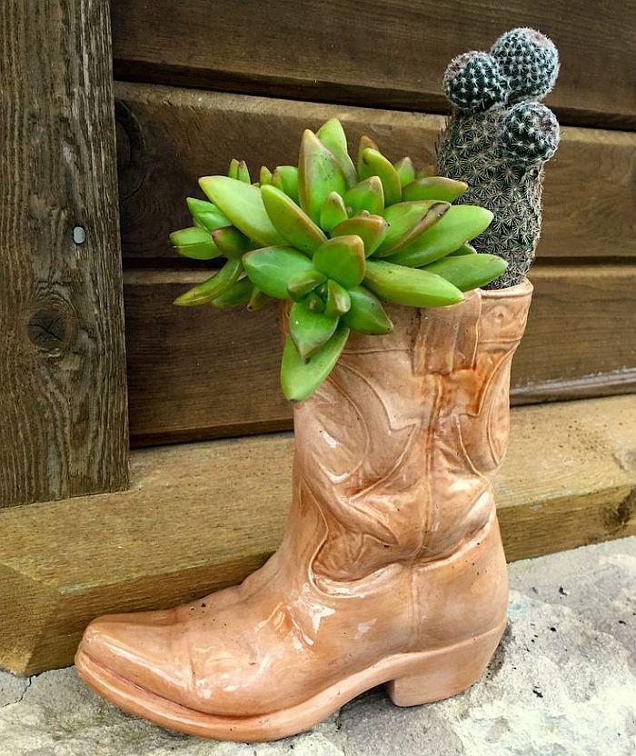 Upcycling mit Stil: Großartige Projekte aus alten Stiefeln #patiodepapas