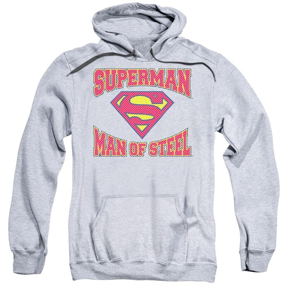 Superman AND HIS DOG Licensed Adult Sweatshirt Hoodie
