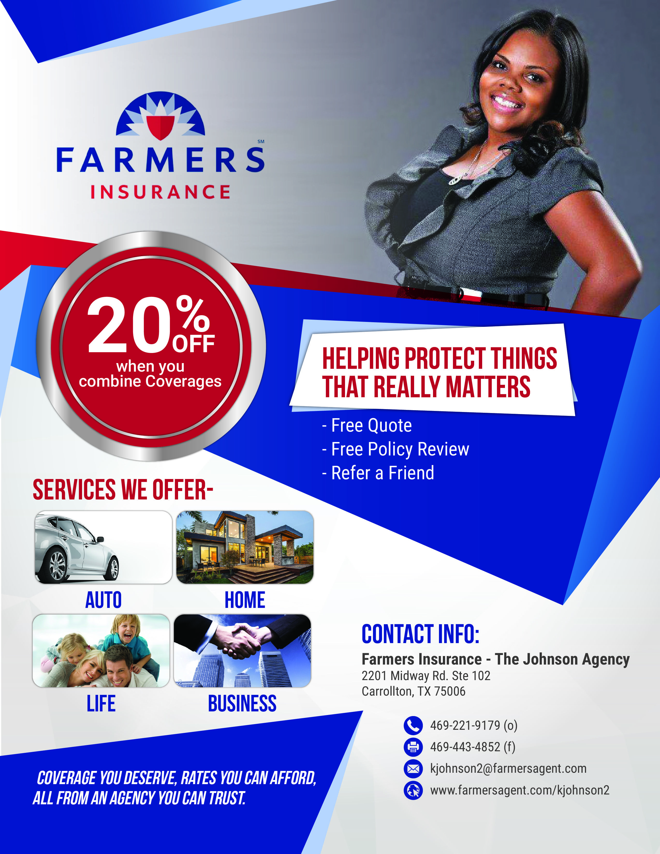 Farmers Insurance The Johnson Agency. Life Insurance
