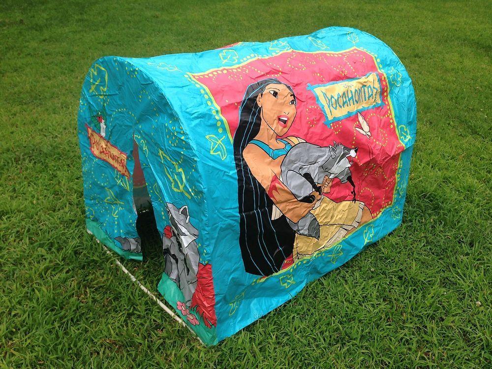 Vintage Disney Pocahontas Life Size Play Tent Playhouse Hut Extremely Rare & Vintage Disney Pocahontas Life Size Play Tent Playhouse Hut ...