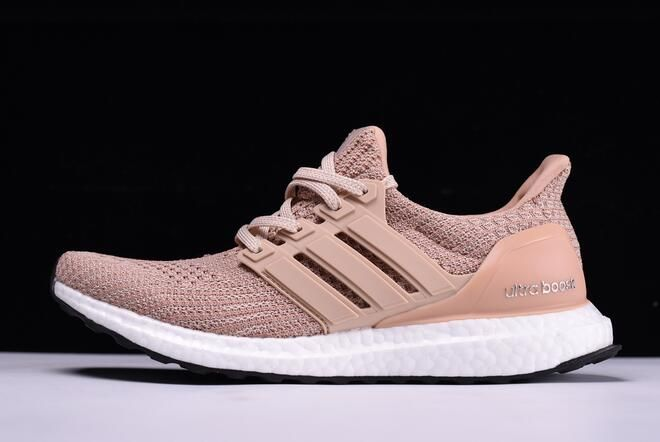"1f85cb163 Women s adidas Ultra Boost 4.0 ""Champagne Pink"" Ash Peach White-Black BB6309"