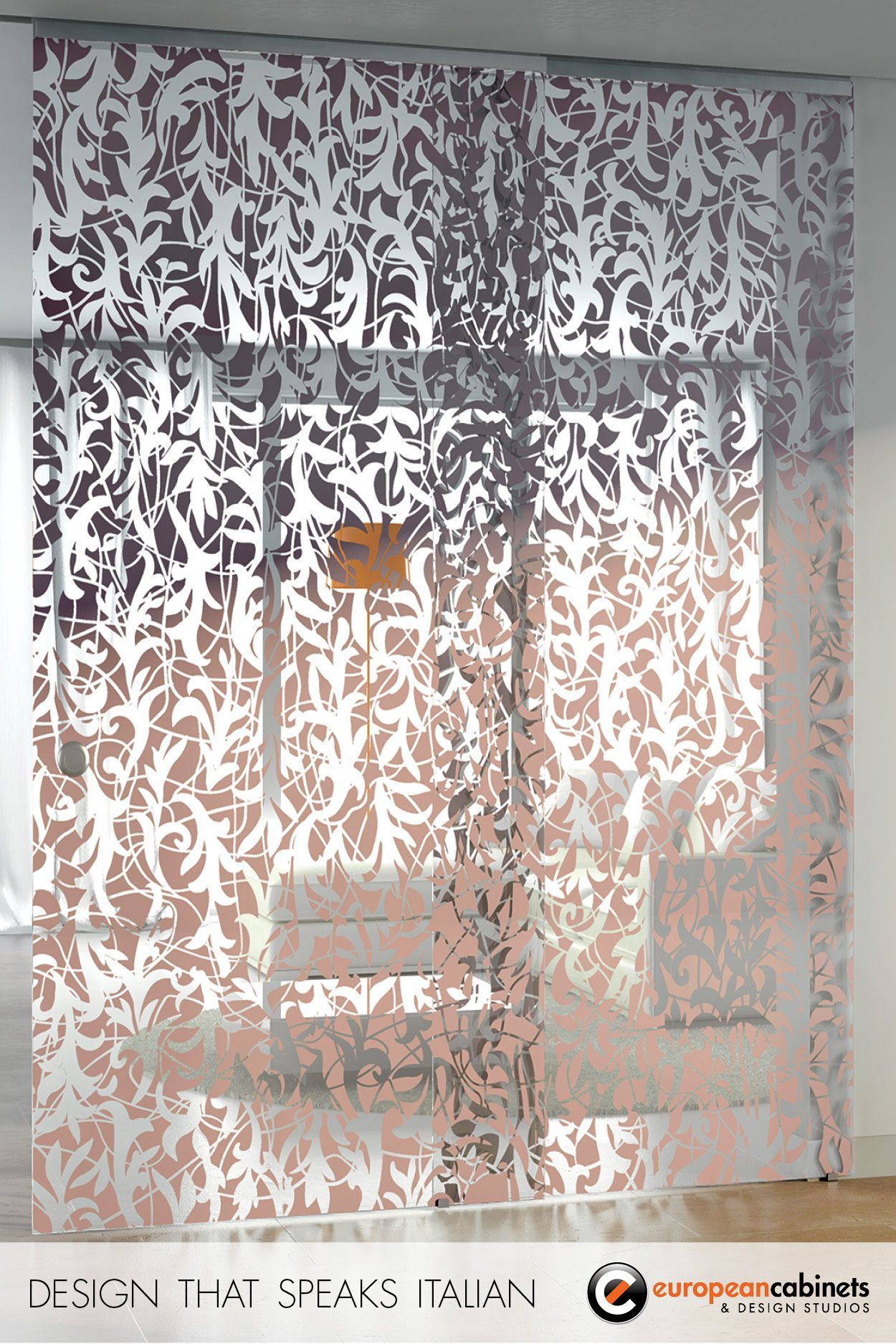 Florita by casali is one of our most popular sliding glass doors perfect for home or office