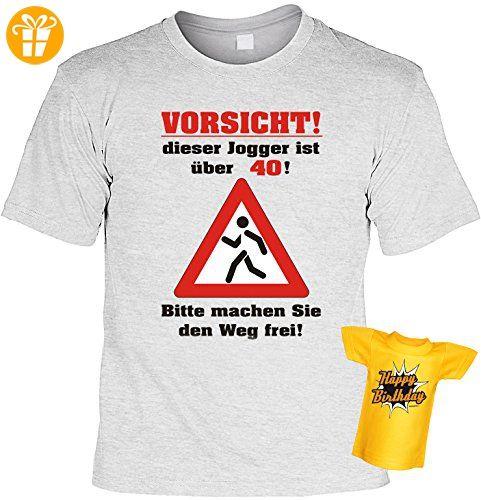 Geschenk Set zum 40. Geburtstag! T-Shirt - Vorsicht! Dieser Jogger ist