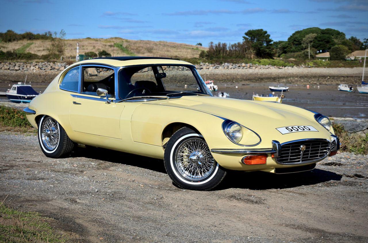 Jaguar e type making money flipping cars highly original