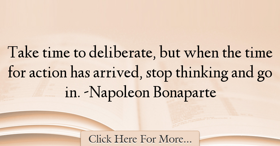 Napoleon Bonaparte Quotes About Time 68599 Citation Temps Citation Education Livre