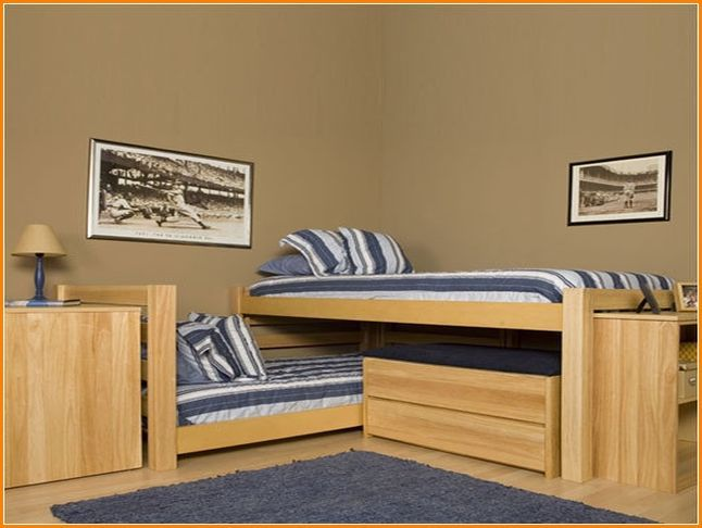 L Shaped Bunk Beds With Extra Loft Beds Loft Bunk Beds L