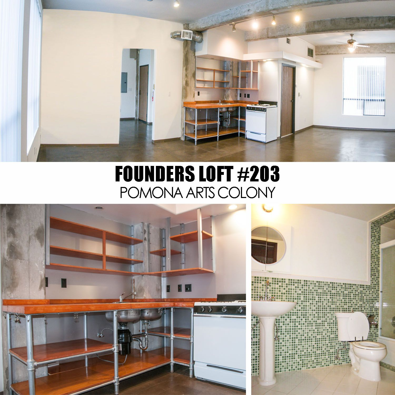 Loft For Rent Live Work Downtown Pomona Inland Empire Los Angeles County Southern California West Coast Artist Studio Lease