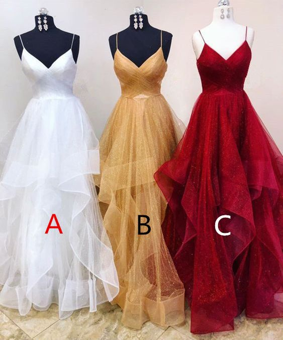 Noble Prom Dress,ALine Prom Gown,Tulle Prom Dress,Spaghetti Straps Prom Gown 9841 - Ball dresses, Prom dresses ball gown, Ball gowns prom, Elegant dresses, Dresses, Fancy dresses - inch (end of arm) only used for one shoulder or off shoulder dress  3  Delivery time1520 days 4, Packing in order to save your shipping cost, each dress will be packed tightly with water proof bag   5, Shipping by UPS or DHL or some special airline  6, Payment Paypal, bank transfer, western union, money gram and so on  7, Return Policy We will accept returns if dresses have quality problems, wrong delivery time, we also hold the right to refuse any unreasonable returns, such as wrong size you gave us or standard size which we made right, but we offer free modify  Please see following for the list of quality issues that are fully refundable for Wrong Size, Wrong Color, Wrong style, Damaged dress 100% Refund or remake one or return 50% payment to you, you keep the dress  In order for your return or exchange to be accepted, please carefully follow our guide 1  Contact us within 2 days of receiving the dress (please let us know if you have some exceptional case in advance) 2  Provide us with photos of the dress, to show evidence of damage or bad quality, this also applies for the size, or incorrect style and color etc  Lace Evening Dress 3  The returned item must be in perfect condition (as new), you can try the dress on, but be sure not to stretch it or make any dirty marks, otherwise it will not be accepted  4  The tracking number of the returned item must be provided together with the reference code issued  5  If you prefer to exchange dresses, then a price difference will be charged if more expensive  6  You are required to pay for the shipping fee to return or exchange the dress  7  When you return the package to us, please pay attention to the following points, if not, customers should pay for the duty we put all of our energy and mind into each dress, each of our dress are full of love