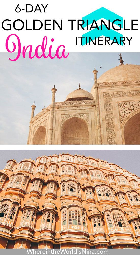 6 days golden triangle itinerary india for beginners best of the