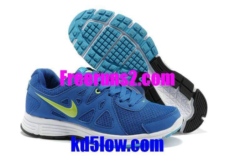 873a4413f42 Nike Revolution 2 Msl Mens Hyper Blue Royal Blue Fluorescent Green 554954  400  Half Price Nike Revolution 2 Msl