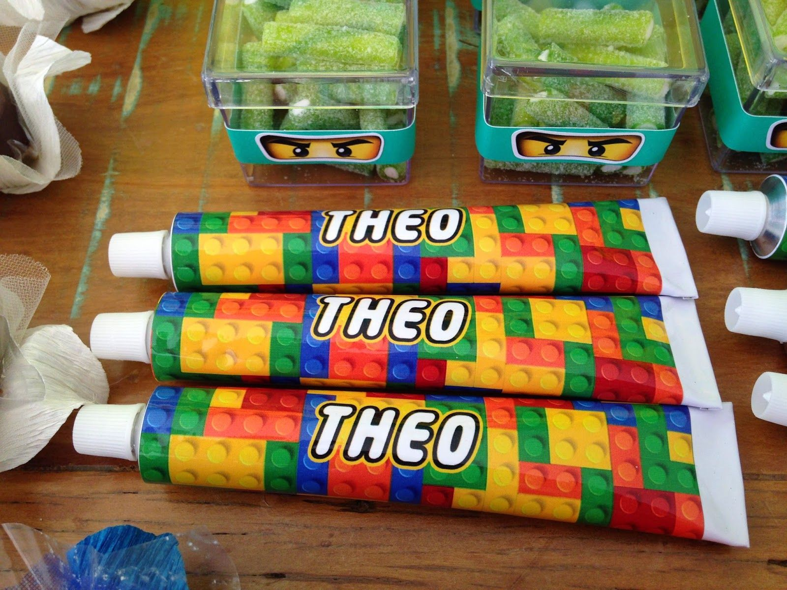 e58a477acf9673 Mari Terzis Personalizados: Festa Lego Ninjago | LEGO | Festa lego ...