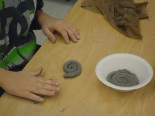 MES Art/Tech: More Clay Projects: 3rd grade Coil bowls