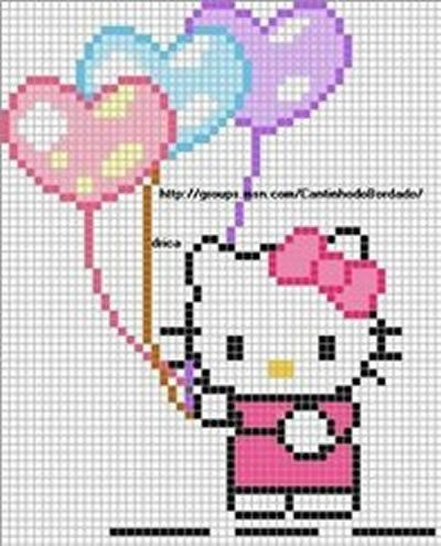 The Best Cross Stitch Patterns of Hello Kitty – Part Two