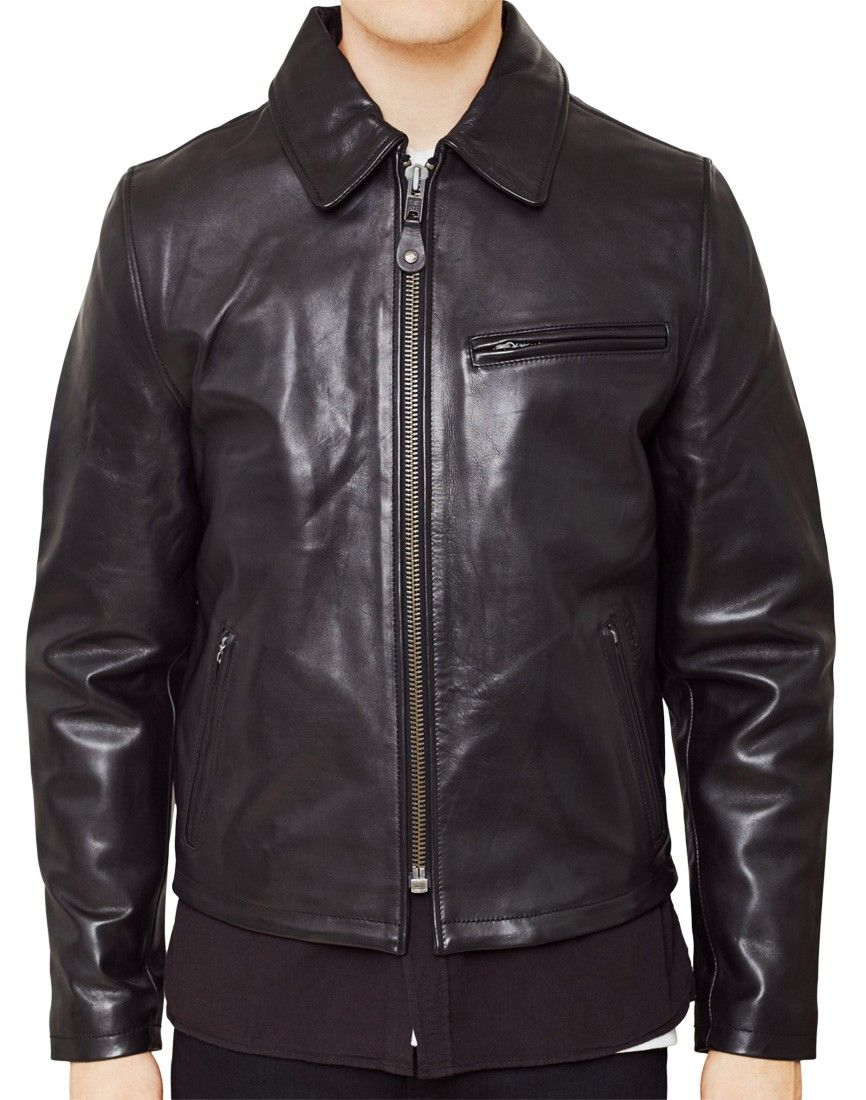 Schott NYC Casual Leather Jacket Black | Shops, Jackets and Shop now