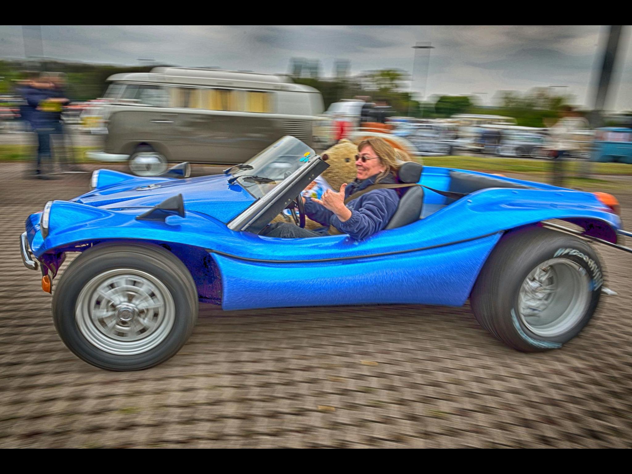 Crazy Lady, Krach Marie | Deserter GT - Dune Buggies | Beach