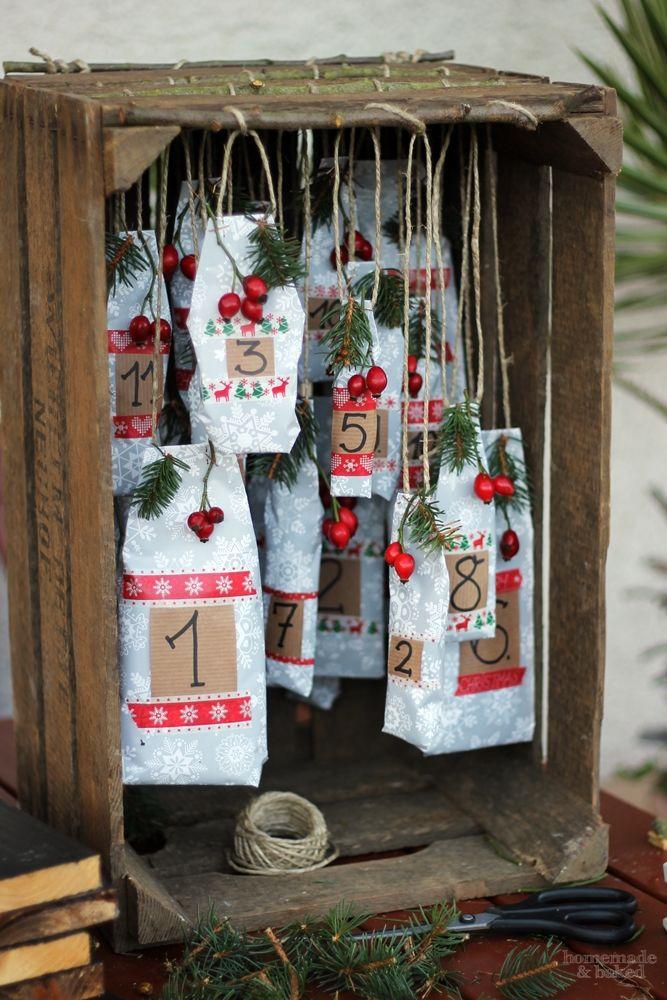 Ja, jetzt ist es wieder soweit. Die Weihnachtszeit rückt immer näher und in weniger als einem Monat ist es soweit: Das erste Türchen des Ad... #bastelideenweihnachten