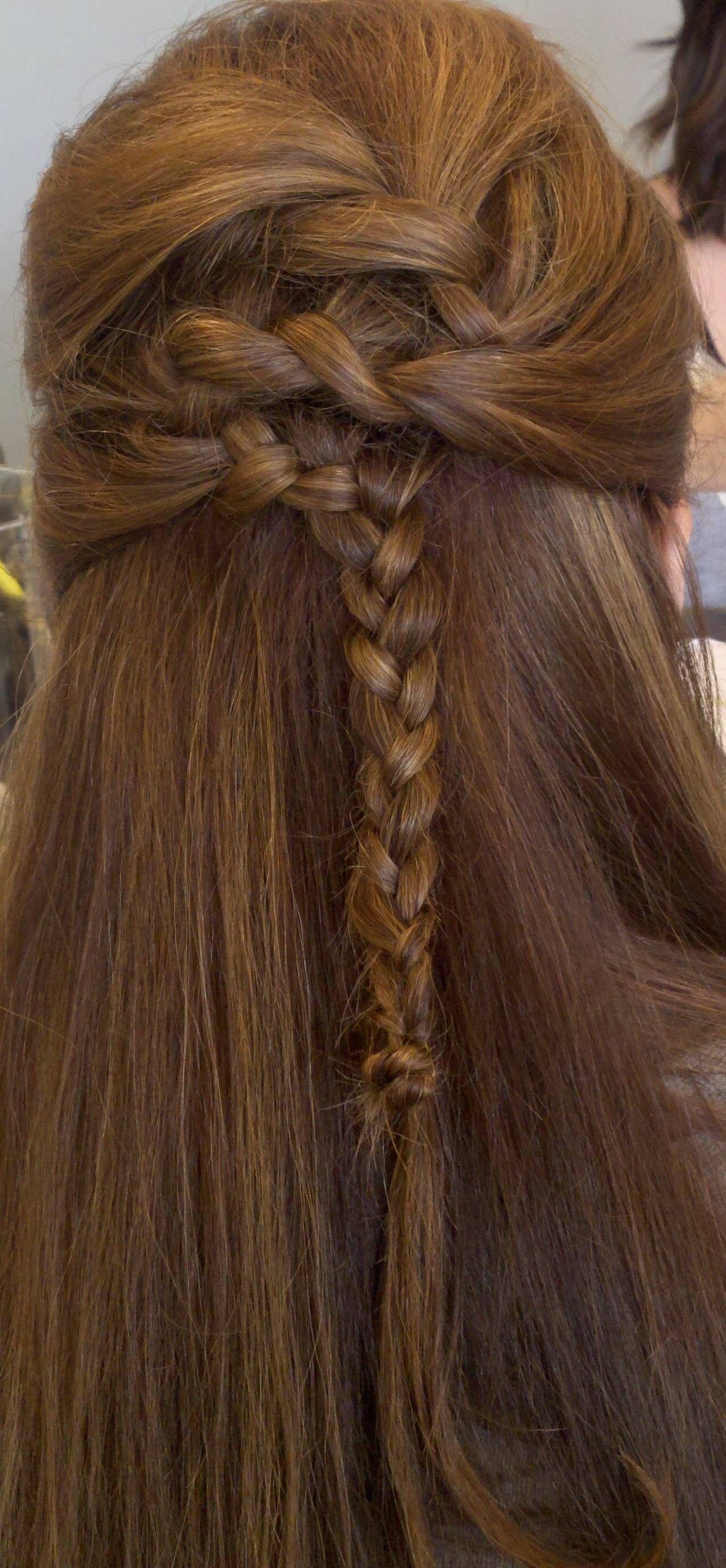 Celtic Huntress Braided Hair.