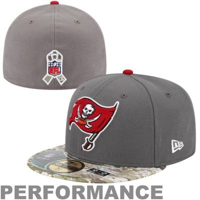 brand new e64d3 09e53 ... cap 0cb61 b768e discount code for new era tampa bay buccaneers salute  to service on field 59fifty fitted performance ...