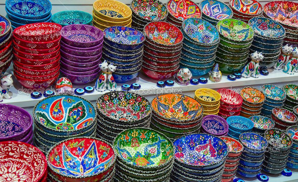 Turkish ceramic plates   Turkish ceramics, Hand painted pottery, Ceramic  plates