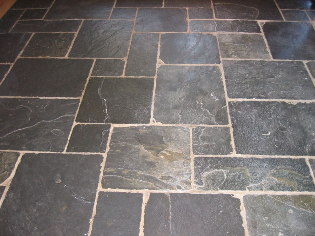 Slate Flagstone Floor Home Styles Pinterest Flooring Tiles