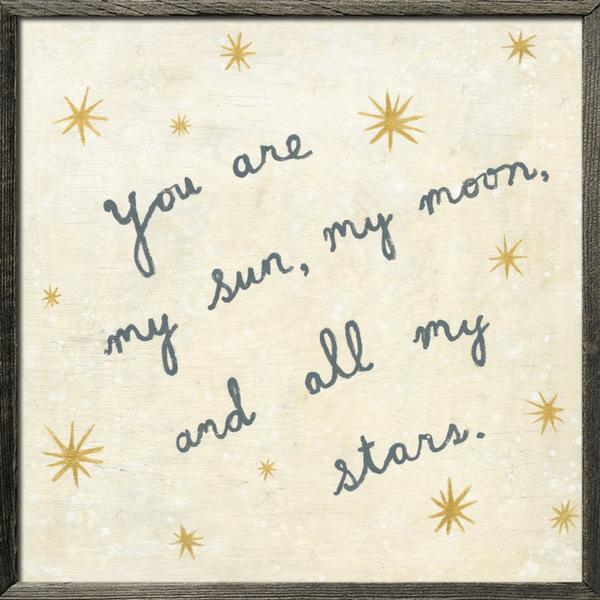 My Sun, My Moon - Art Print – Sugarboo & Co