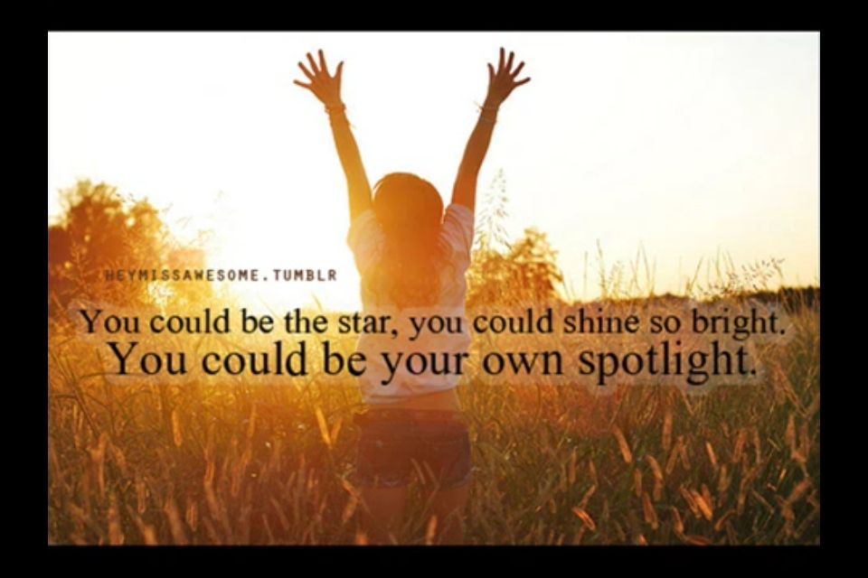 Be yourself :) everyone will love you and if they don't then they miss out on your glowing light