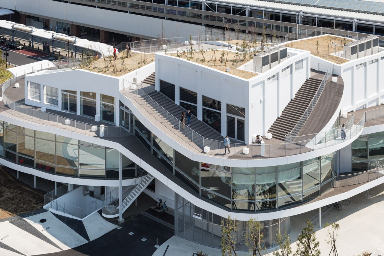 2017年5月号062頁 太田市美術館 図書館 平田晃久建築設計事務所