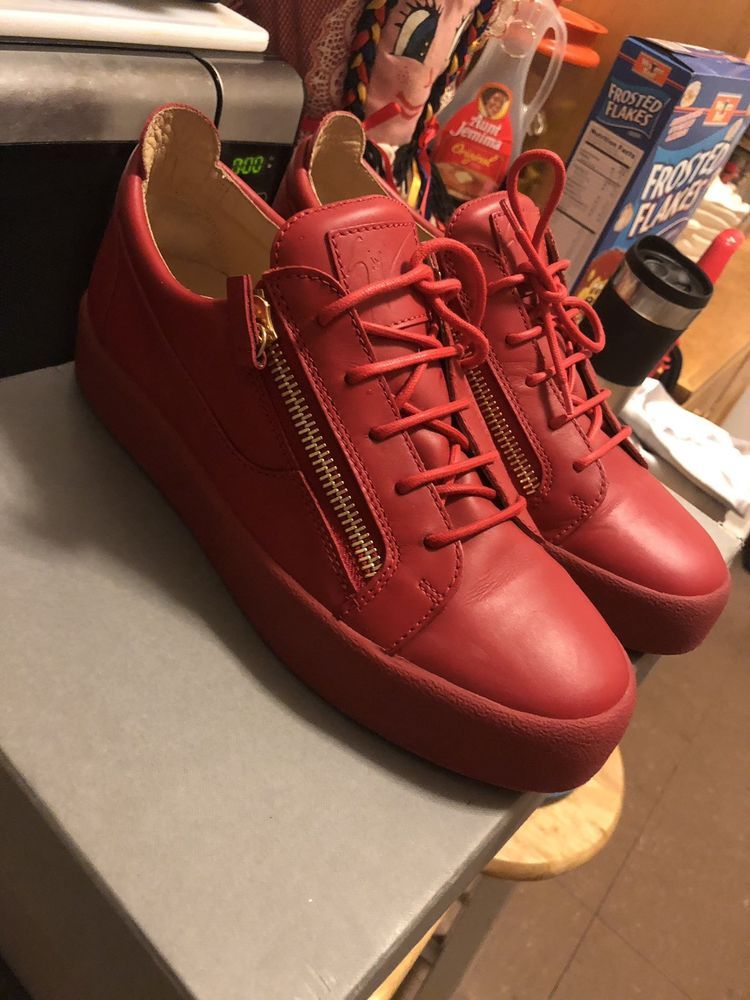 00ac5b29724 guiseppe zanotti sneakers Size 9.5 (42.5)  fashion  clothing  shoes   accessories  mensshoes  casualshoes (ebay link)