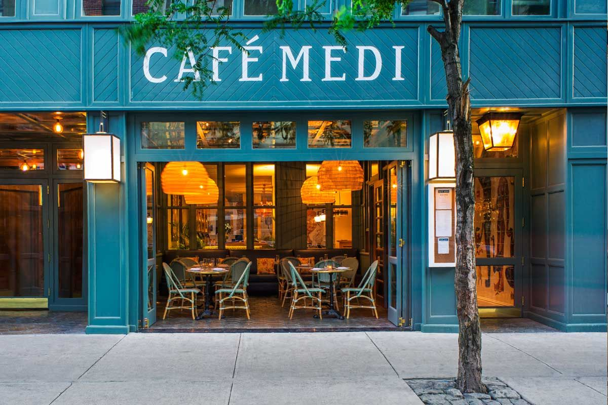Cafe Medi European cafe, Nyc hotels, Gallery cafe