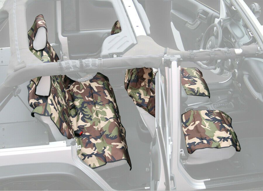 Aries Seat Defender Camo Canvas Seat Cover  314220314220314620  New 16224