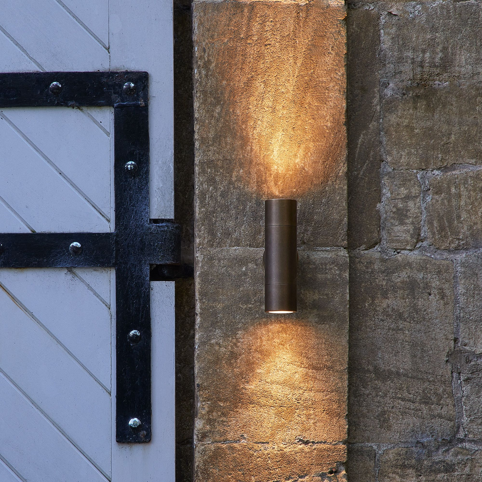 Clessidra Modern Up Down Contemporary Wall Spot Light For Indoor Or Outdoor Lighting Flos Shop Wall Lights Exterior Wall Light Modern Outdoor Wall Lighting