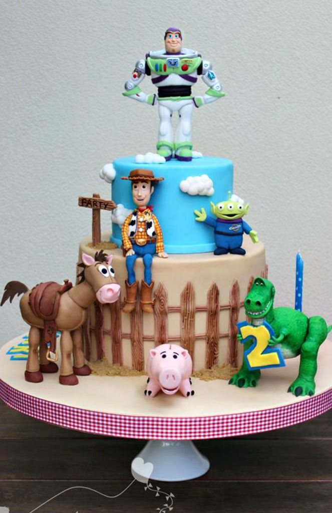 Toy Story Cake Cakes And Cupcakes For Kids Birthday Party