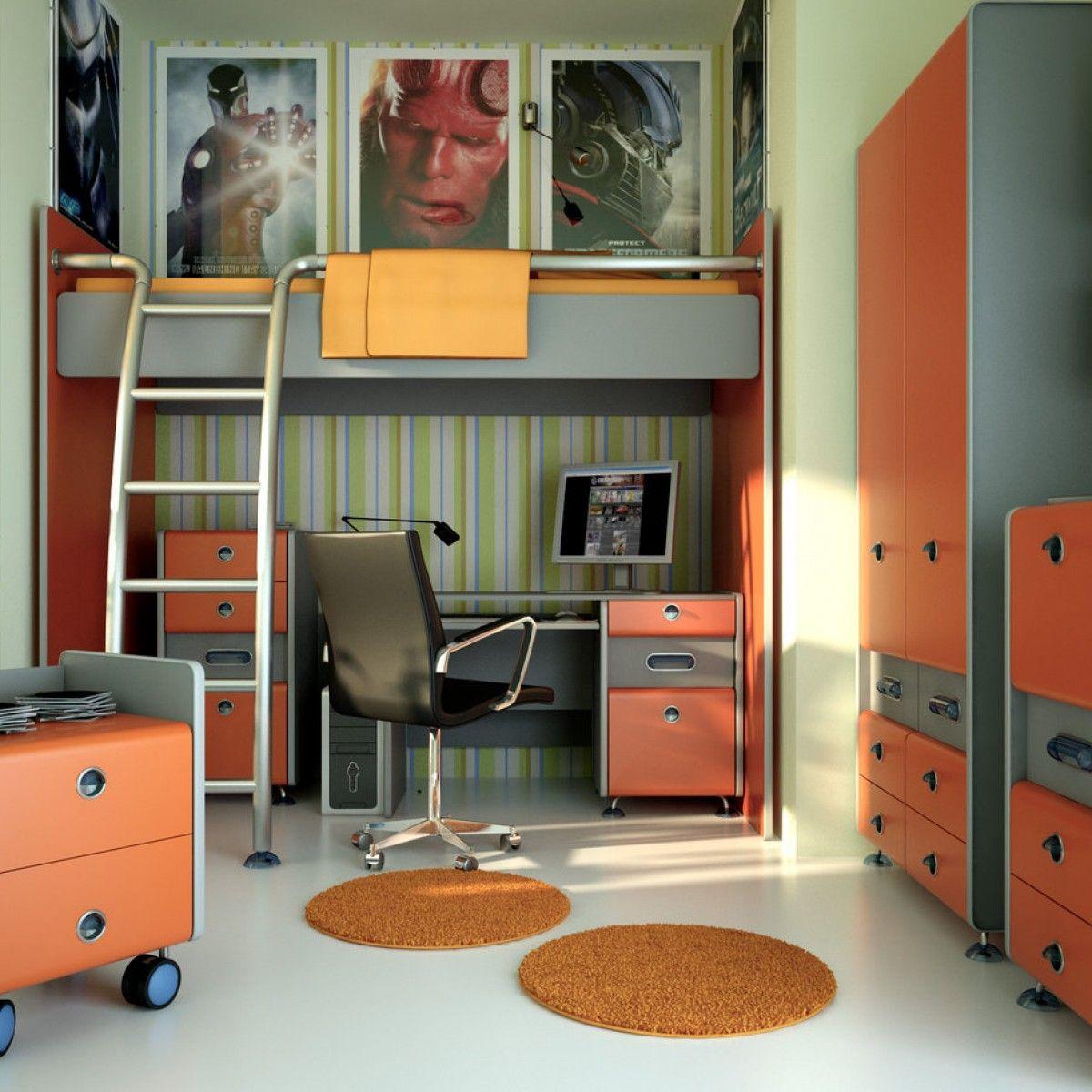Modern teenage boys bedroom - Teen Boy Bedroom Ideas
