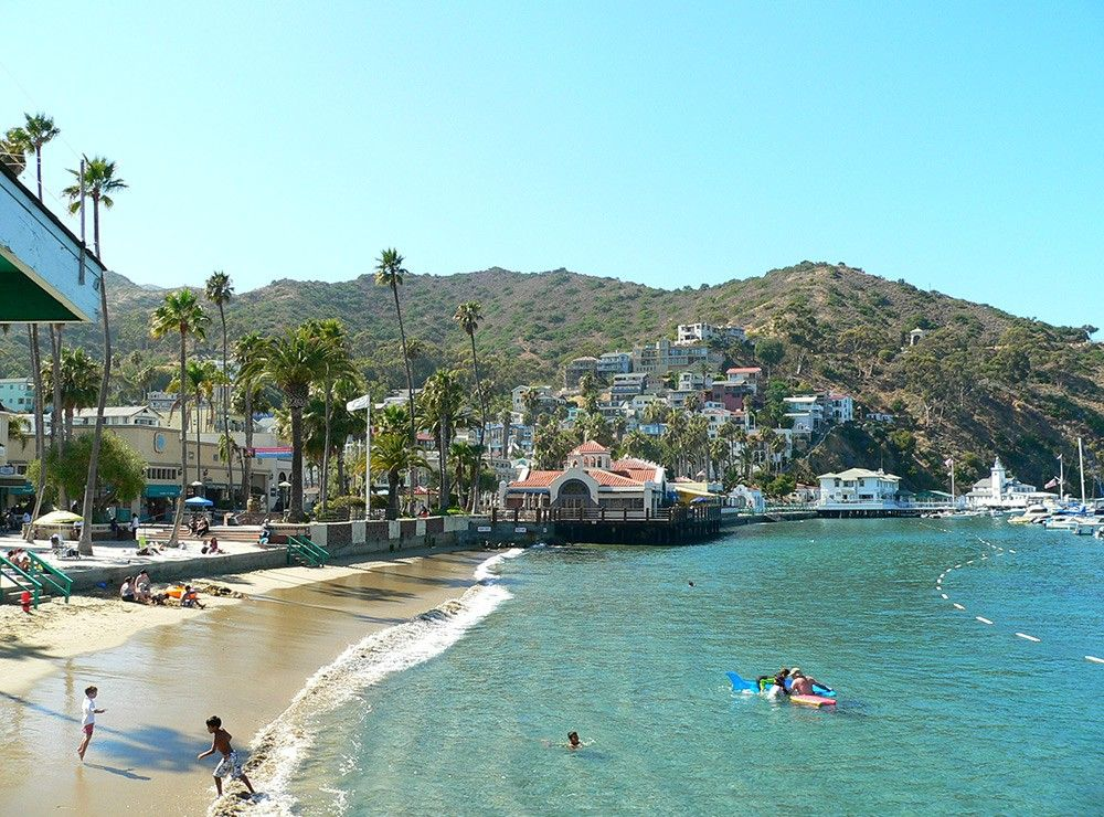 One Day In Catalina Island Enjoy The Beach In 2020 Catalina