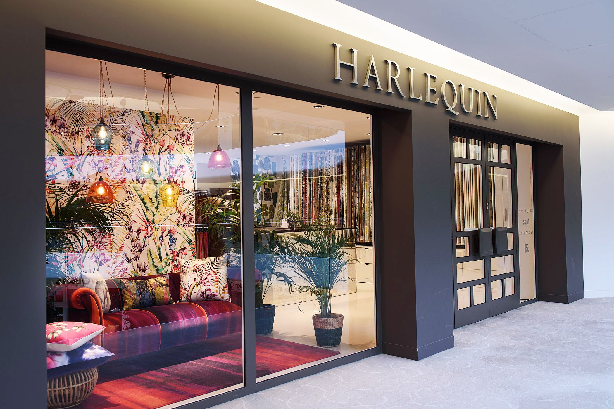 Harlequin Showroom Chelsea Harbour Design Centre March 2015