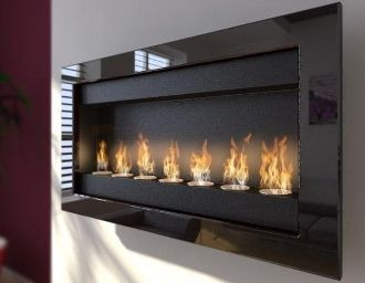 modern fireplaces ventless fireplaces ethanol fireplaces indoor rh pinterest com