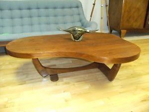 395 Mcm Teak Coffee Table Kidney Shaped Teak Coffee Table Coffee Table Ottoman Coffee Table