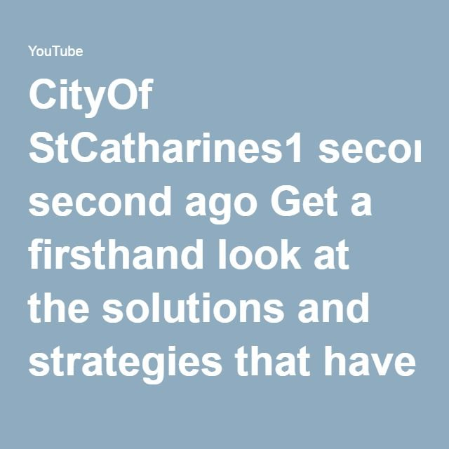 CityOf StCatharines Get a firsthand look at the solutions and strategies that have made the Cisco data center in Allen, Texas so successful, with a focus on the use of Cisco Intercloud to maximize workload portability among private and public clouds, as well as critical data networking elements.  Subscribe to Cisco's YouTube channel: http://cs.co/Subscribe.