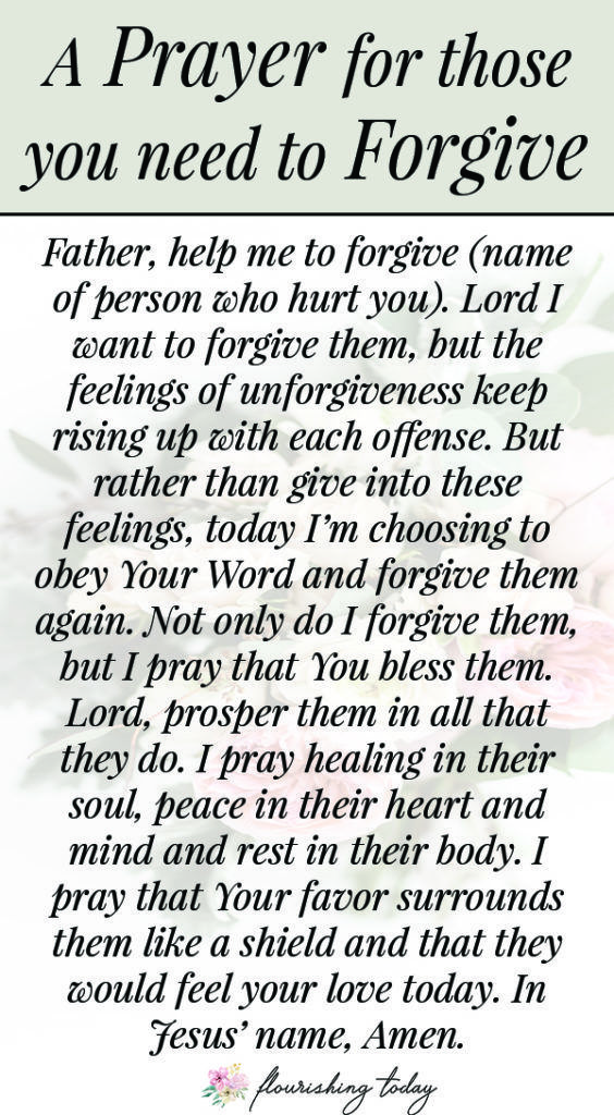 Do you need to forgive someone who has hurt you repeatedly? Perhaps your tired of forgiving. Here are a few biblical truths to learn to walk in God's truth on forgiveness and forgive those people who hurt your feelings. #forgive #forgiveness #biblicaltruths #bibleverses #scriptureonforgiveness #howtoforgive #freeprintable