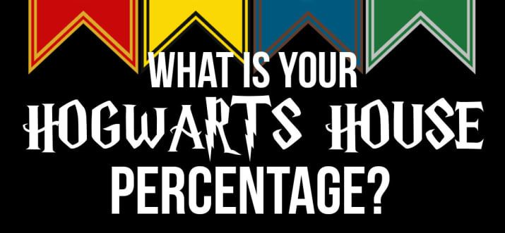 What Is Your Hogwarts House Percentage Harry Potter House Quiz Harry Potter Houses Harry Potter Hogwarts Houses