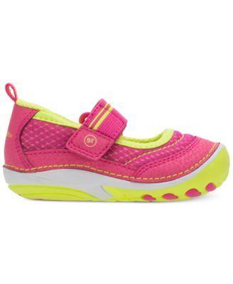 Stride Rite Soft Motion Gwyn Shoes, Baby Girls (0-4) & Toddler Girls (4.5-10.5) - Pink 5.5 Toddler