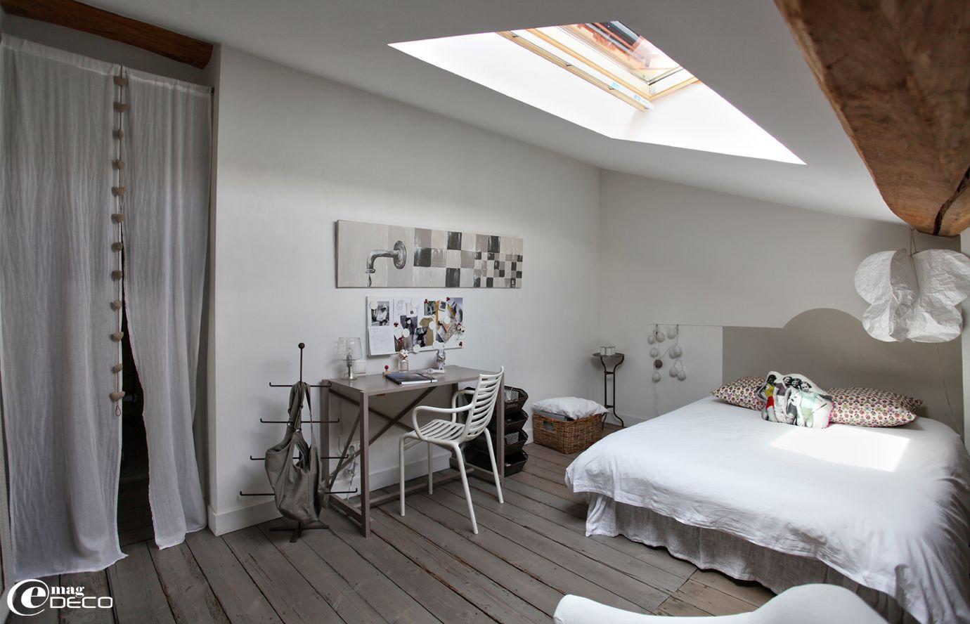 B atrice loncle simule une t te de lit avec de la peinture for Recherche decoration maison