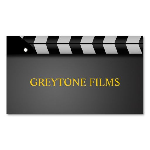 Director clapperboard film movies producer act business card director clapperboard film movies producer act business card templates colourmoves