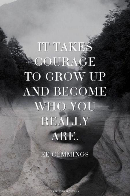 ee cummings it takes courage