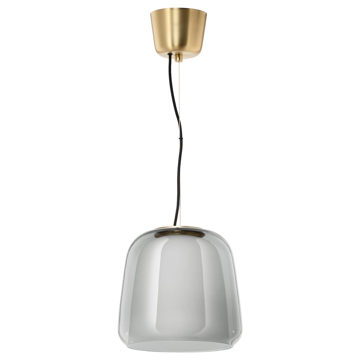 EVEDAL Hanglamp grijs in 2020 | Hanglamp, Plafondlamp