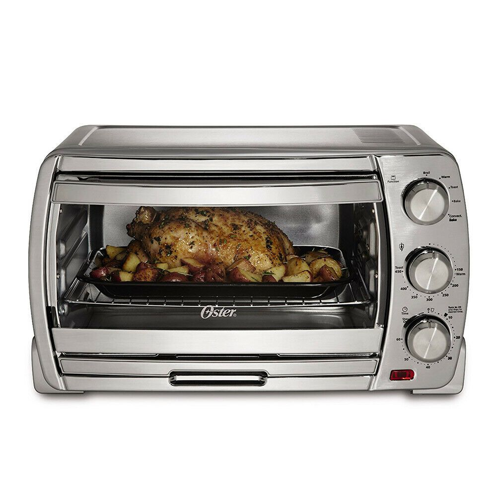 Details About Oster Extra Large Convection Toaster Oven Brushed