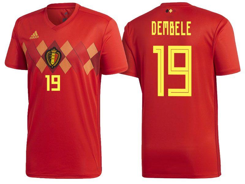6f1d931a6 Belgium 2018 World Cup Home Jersey mousa dembele