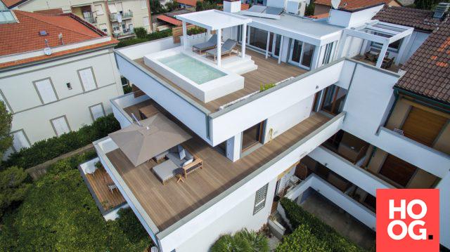 Moderne villa met luxe dakterras house designs dream homes