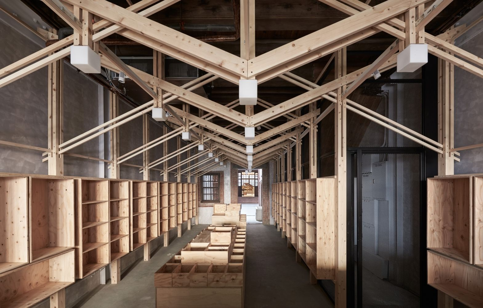 Gallery Of The Inverted Truss B P Architects 30 Architect Timber Architecture Wood Architecture